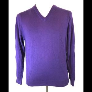 346 Brooks Brothers Cotton Purple Sweater